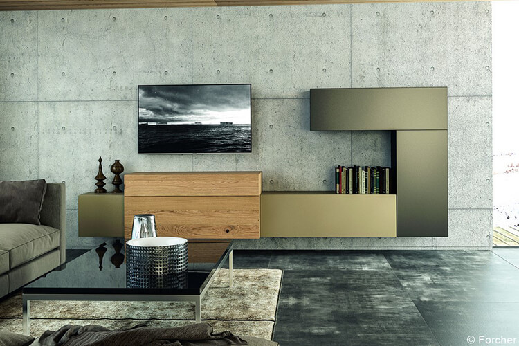 wohnzimmer schreinerei forner. Black Bedroom Furniture Sets. Home Design Ideas